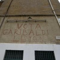 Roma, ripristinata la scritta
