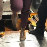 """Roma, scalini """"impazziti"""" nella scala mobile della metro Barberini: nessun ferito"""