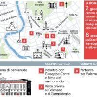 Roma blindata per l'arrivo del presidente cinese Xi Jinping: due zone di