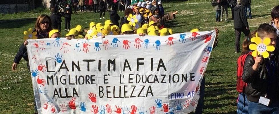 Da Formia alla Romanina: studenti insieme a Libera in piazza contro la mafia