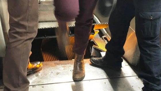 """Metro Roma, disagi senza fine: chiuse fermate Spagna e Barberini dopo l'incidente della scala mobile """"impazzita"""""""
