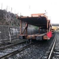 Deraglia treno merci sulla Roma-Cassino: bloccata parte della linea