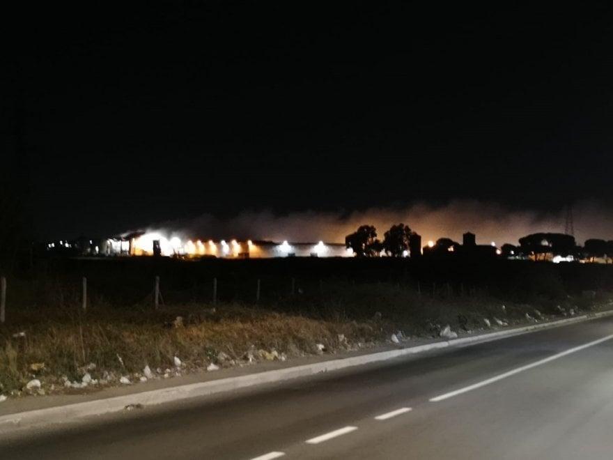 Roma e i rifiuti: l'impianto Ama di Rocca Cencia danneggiato dall'incendio