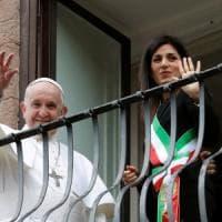 Papa Francesco in Campidoglio: