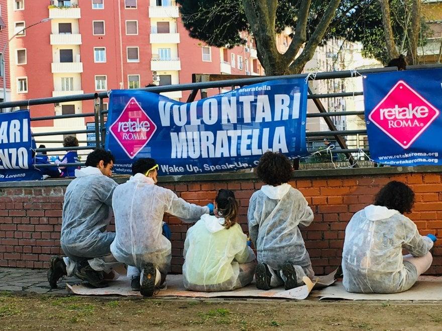 """Da piazza Ragusa a Ostia, i cittadini ripuliscono la Capitale per """"Bella Roma"""""""