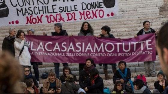 Casa delle Donne, ancora un no: M5s boccia la mozione per rinnovare la concessione della sede