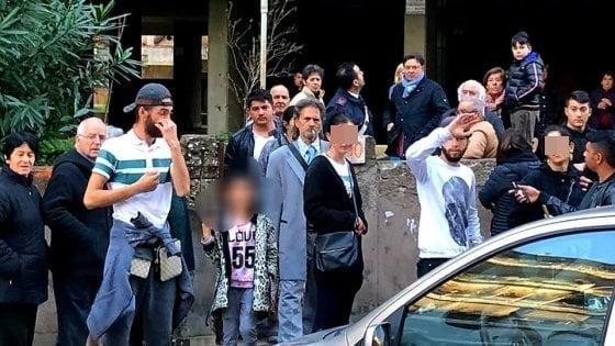 """""""Via i rom da qui"""": A Casal Bruciato negata la casa a una famiglia"""
