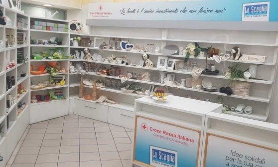 A Civitavecchia apre il primo temporary store solidale della CRI