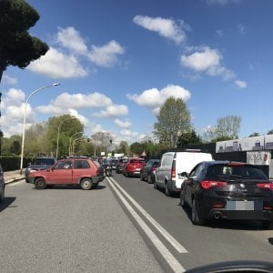 Formula E a Roma, traffico e code all'Eur per le chiusure stradali