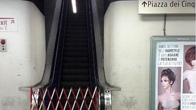Metro Roma, si ferma un'altra scala mobile: stavolta il guasto all'uscita di Termini