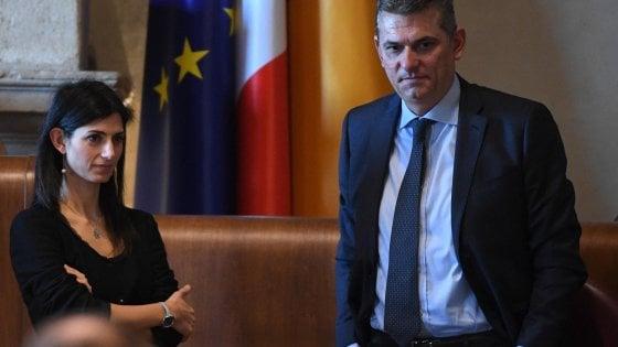 """Audio Ama, legale Raggi: """"Valuteremo querela per Bagnacani"""". L'ex ad: """"Solidarietà da tutta Italia"""""""