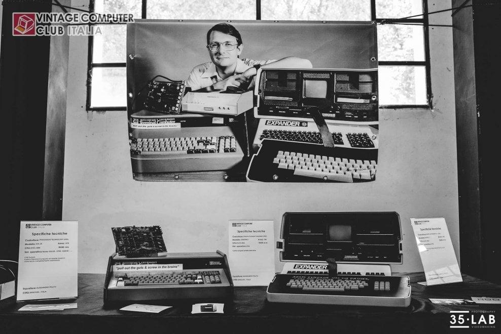 All'ex Cartiera Latina esposizione di computer vintage dal Commodore all'Apple Lisa