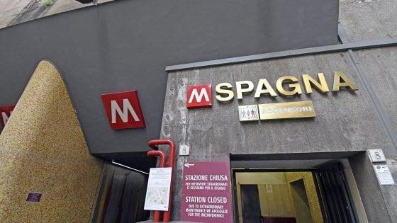 Roma, riaperta la fermata metro Spagna. Via libera del ministero