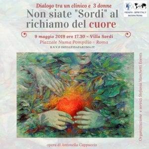 """Roma, """"Non siate Sordi al richiamo del cuore"""": dialogo tra un medico e tre donne sulle cardiopatie femminili"""