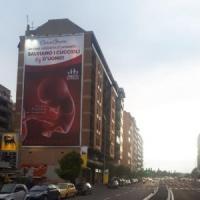 Roma,  bufera sul manifesto Pro Vita in via Tiburtina  autorizzato dal Comune.