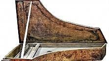 Rare tastiere d'epoca a Palazzo Chigi di Ariccia