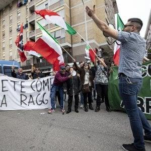 Roma, CasaPound, 65 indagati per le protesta anti rom