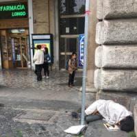 Roma, Esquilino si mobilità per il clochard invisibile