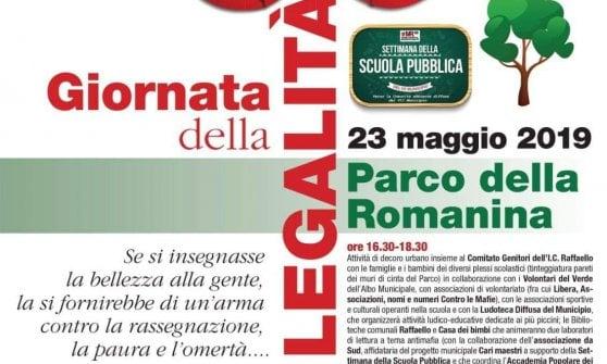 Roma, film e laboratori alla Romanina per la giornata della legalità