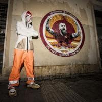 """Roma, a Testaccio un murale per De Rossi contro Pallotta: """"Yankee go home"""""""