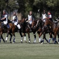 Principe Harry al Roma Polo Club per beneficenza