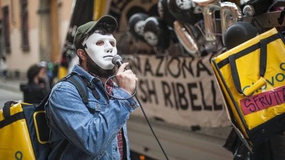 "Roma, l'ira dei rider: ""Niente Cud, noi senza diritti"""