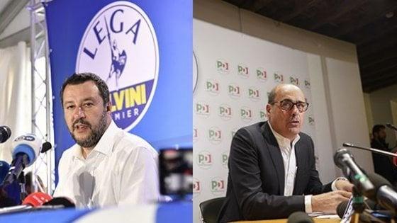 Europee: Lega primo partito nel Lazio, ma a Roma vince il Pd. Crollo M5s. Salvini il più votato