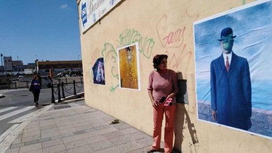 Fiumicino, sui muri i capolavori dei pittori contro le svastiche