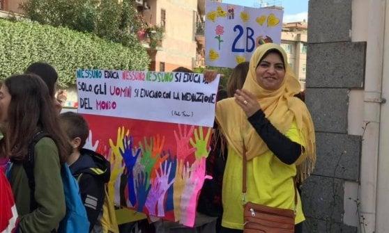 """Roma, a Villa Bonelli 2500 studenti della Nino Rota in marcia per dire """"No al bullismo"""""""