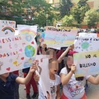 Roma, a Villa Bonelli 2500 studenti della Nino Rota in marcia per dire