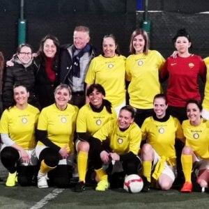 La squadra di calcio femminile del Vaticano in trasferta a
