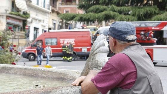 Rocca di Papa, tre indagati per l'esplosione. Rintracciati i tre operai che si erano allontanati dopo lo scoppio