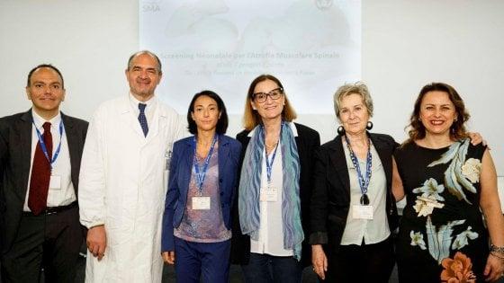 Screening neonatale,  al via progetto nel Lazio e nella Toscana per 140 mila bambini in due anni