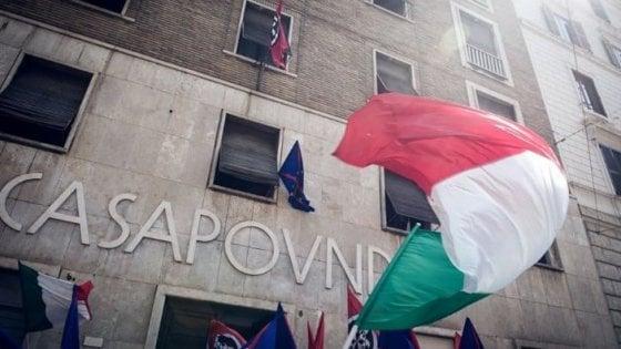"""Casapound, pugno duro della Corte dei Conti: """"Per l'occupazione danno erariale da 4,6 milioni: li paghino dirigenti Demanio e Miur"""""""
