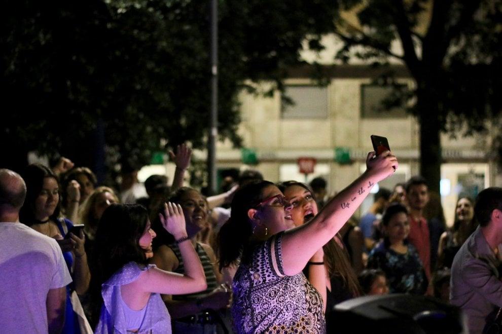Roma, a piazza Bologna musica all'aperto contro i divieti anti-alcol