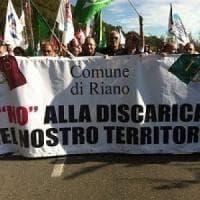 Rifiuti Roma, scatta la rivolta contro la nuova discarica a Pian dell'Olmo