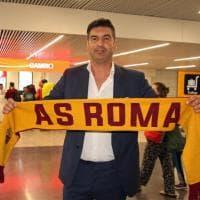 Sbarca a Fiumicino Paulo Fonseca, il nuovo allenatore della Roma