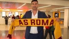 Paulo Fonseca sbarca a Fiumicino