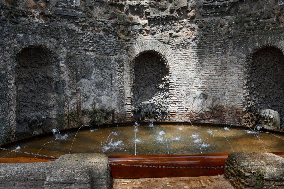 Acqua e scherzi: a Roma riapre il Ninfeo degli Specchi al Palatino