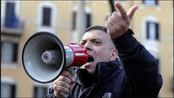 Roma, evade dai domiciliari: nuovo arresto per Giuliano Castellino