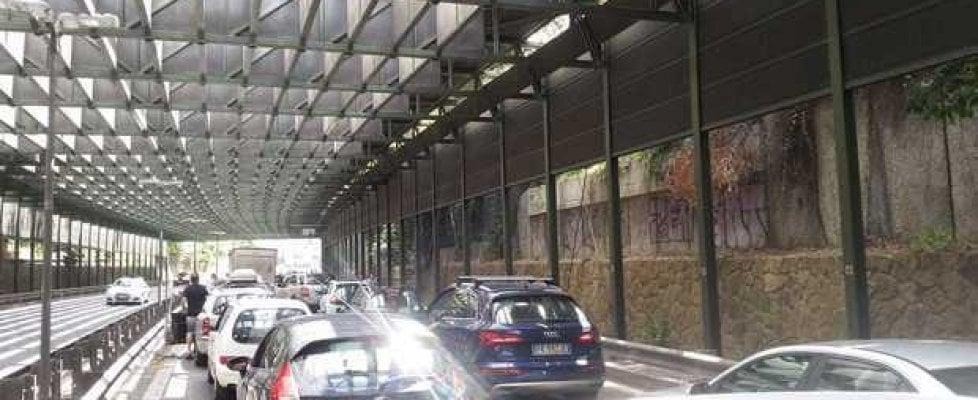Roma, traffico a rischio caos per il concerto  dei Muse all'Olimpico e per la chiusura per manutenzione della Galleria Farnesina