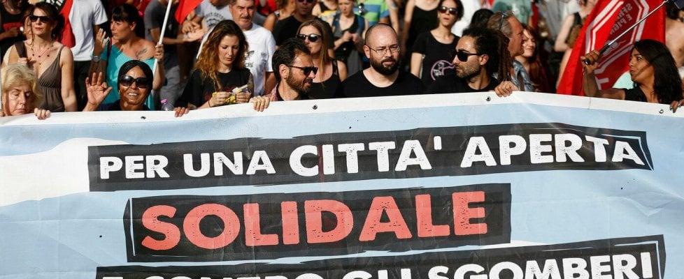 """Primavalle,  mobilitazione a difesa di via Cardinal Capranica: """"No allo sgombero, non siamo criminali"""""""