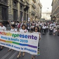 Disability Pride a Roma, la grande festa contro le barriere da piazza Venezia a piazza del Popolo