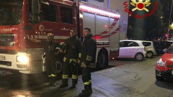 Roma, incendio in un appartamento al Tufello: disabile muore carbonizzato
