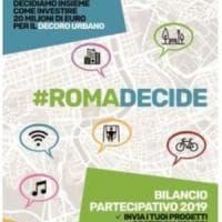 Roma, bilancio partecipativo: a caccia di clic per sostenere gli interventi di riqualificazione urbana