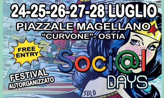 """Ostia, apre il villaggio sociale con """"Social Days - Festival delle associazioni"""""""