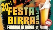 A Fabrica di Roma  la festa della birra