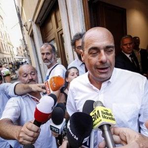 Roma, busta sospetta per Zingaretti: artificieri al Nazareno: dentro c'era eroina