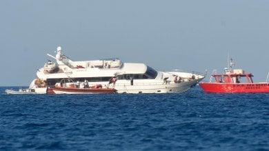 Ponza, il super yacht contro le secche: due sos a luglio e agosto, fugge il comandante