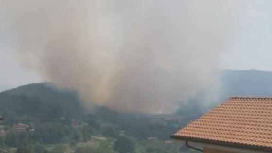 Ancora incendi ai Castelli Romani: fiamme intorno Rocca Priora